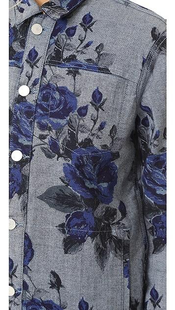 J Brand Reversible Cyra Oversize Jacket