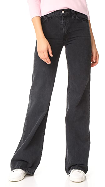 J Brand Bella Freud Jane High Rise Jeans In Overthrow