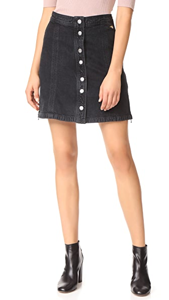 J Brand x Bella Freud Nashville Skirt - Overthrow