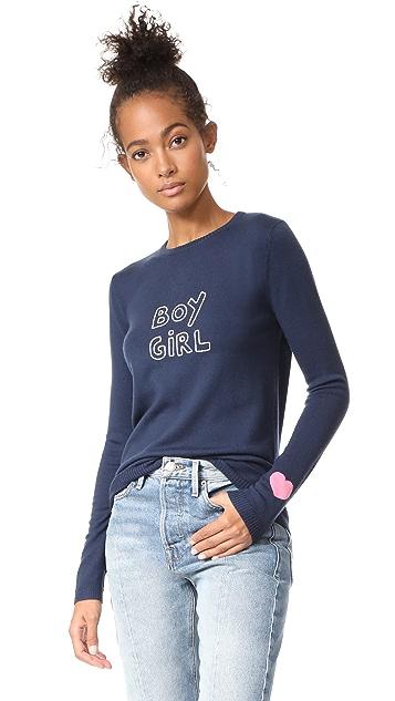 J Brand x Bella Freud Boy Girl Jumper