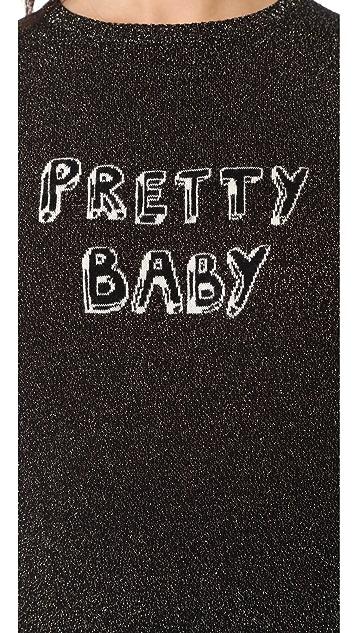 J Brand x Bella Freud Sparkle Pretty Baby Jumper