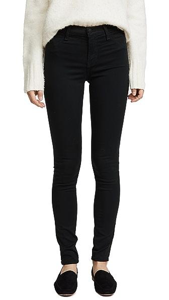 J Brand 485 Mid Rise Skinny Pants