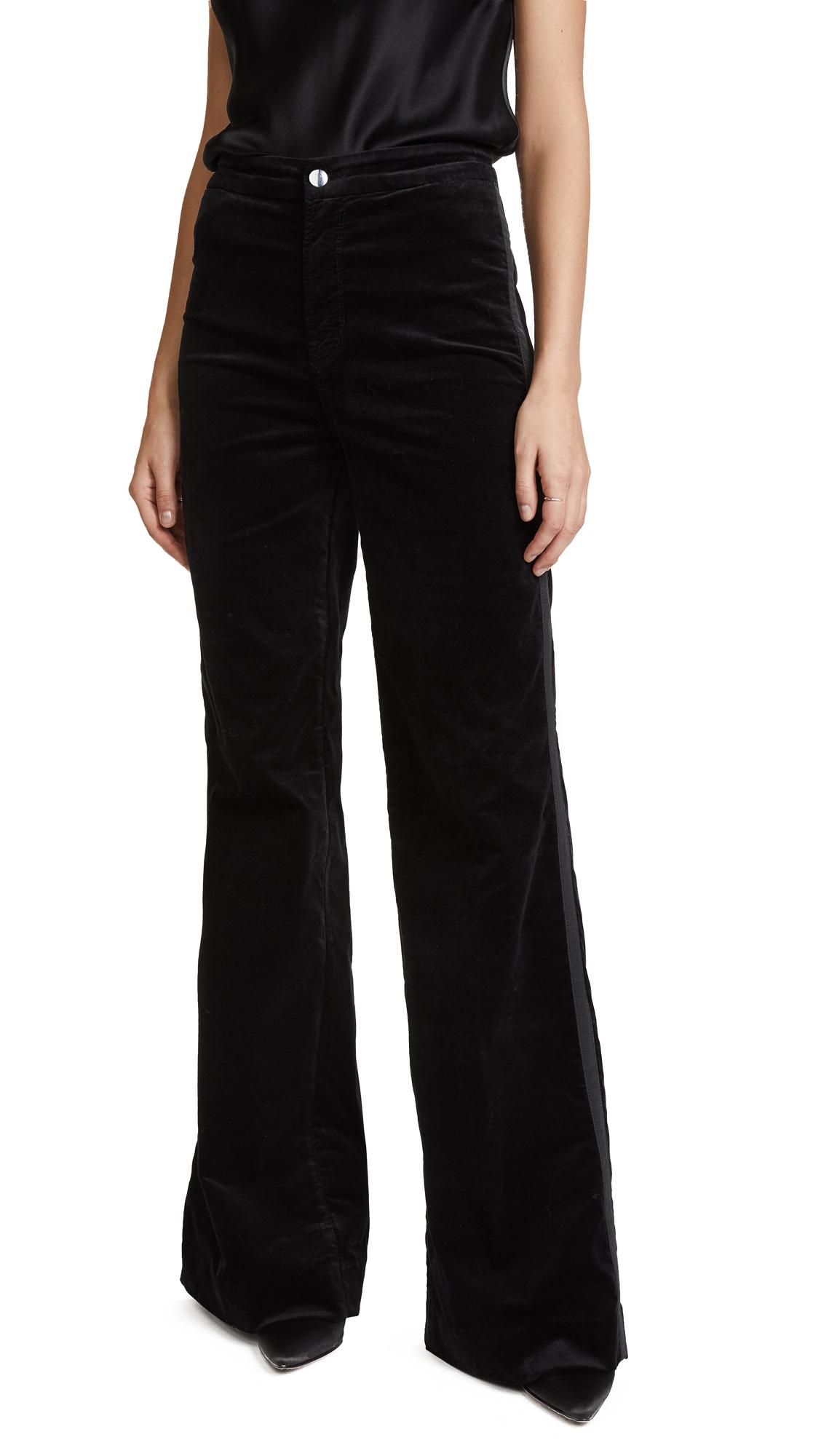 J Brand Isabella High Rise Pants - Black