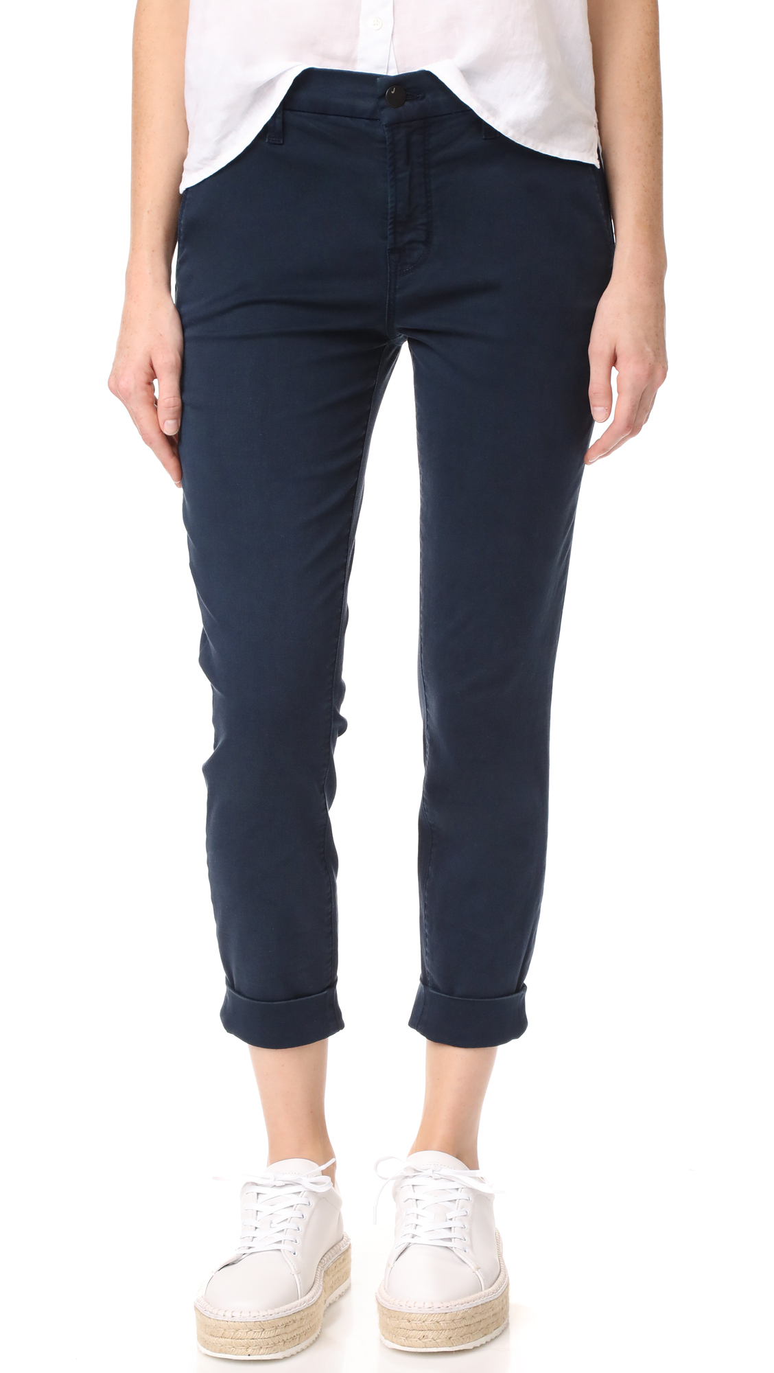 J BRAND JOSIE TAPERED LEG TROUSERS
