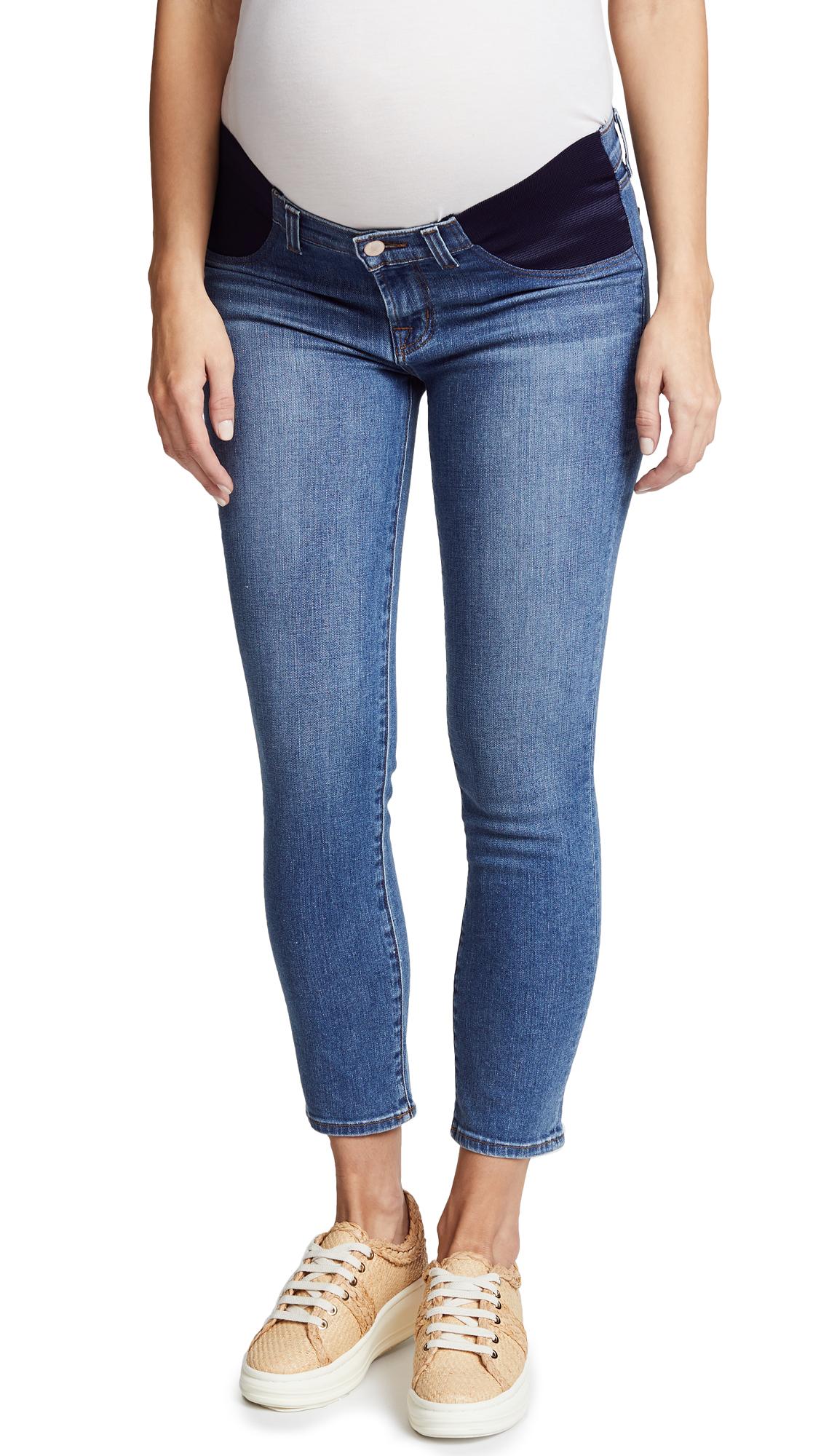 Mama J Crop Cigarette Jeans