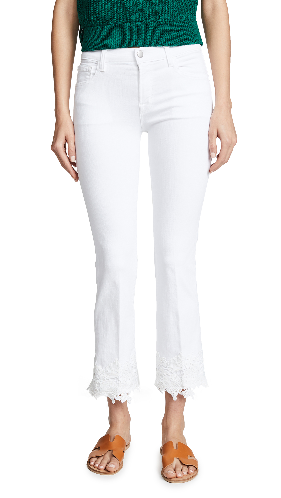 SELENA CROPPED JEANS