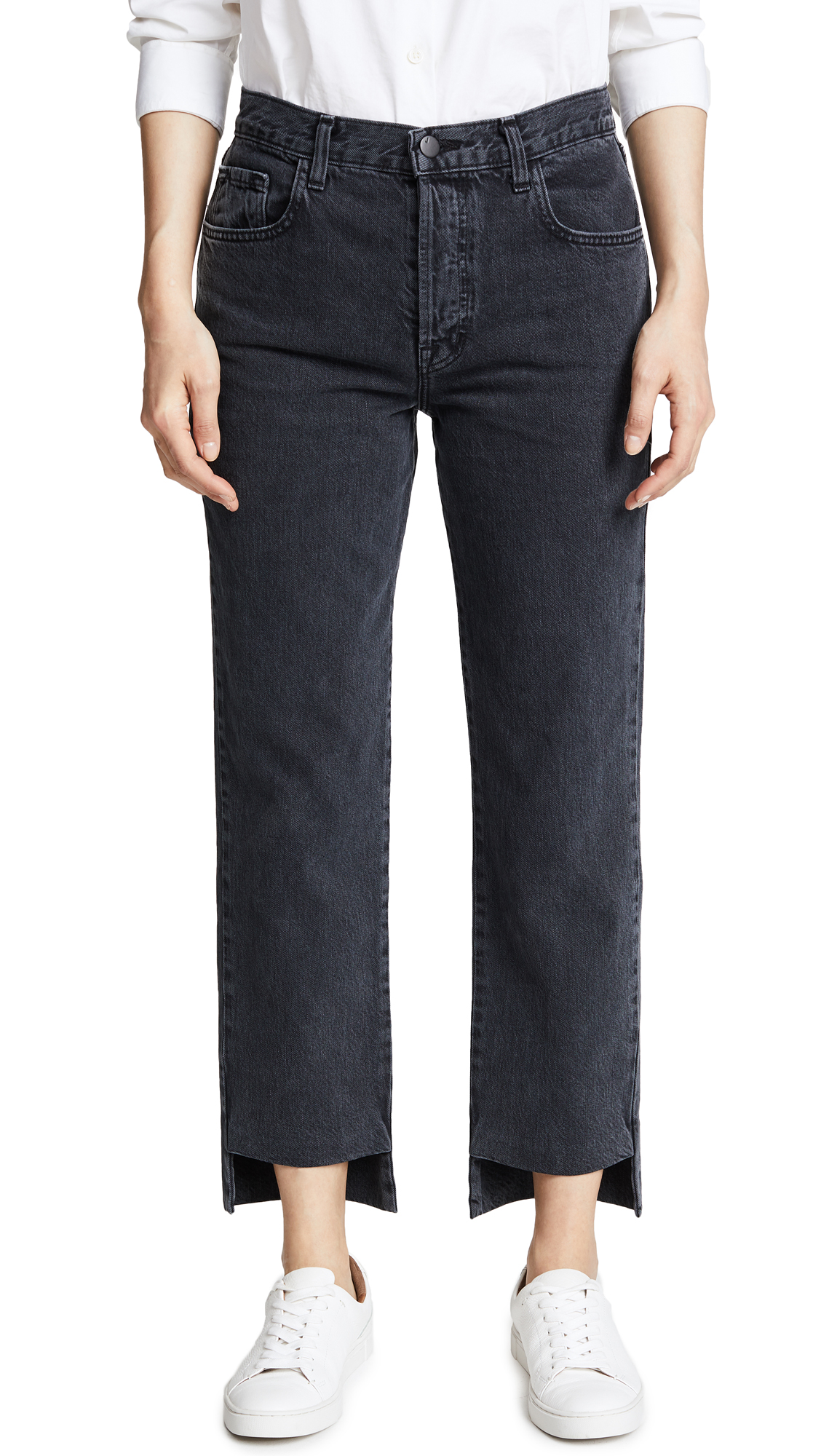 J Brand Wynne Crop Straight Jeans In Overthrow