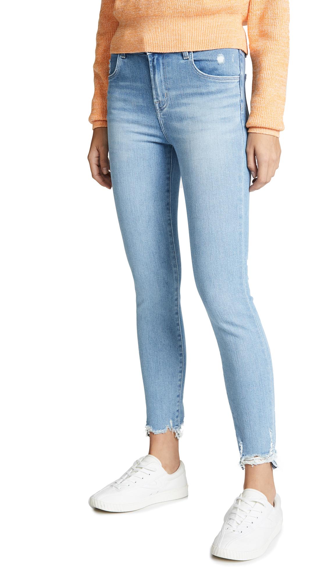 d830cdb3f614 J Brand Alana High Rise Crop Skinny Jeans - Teardrop
