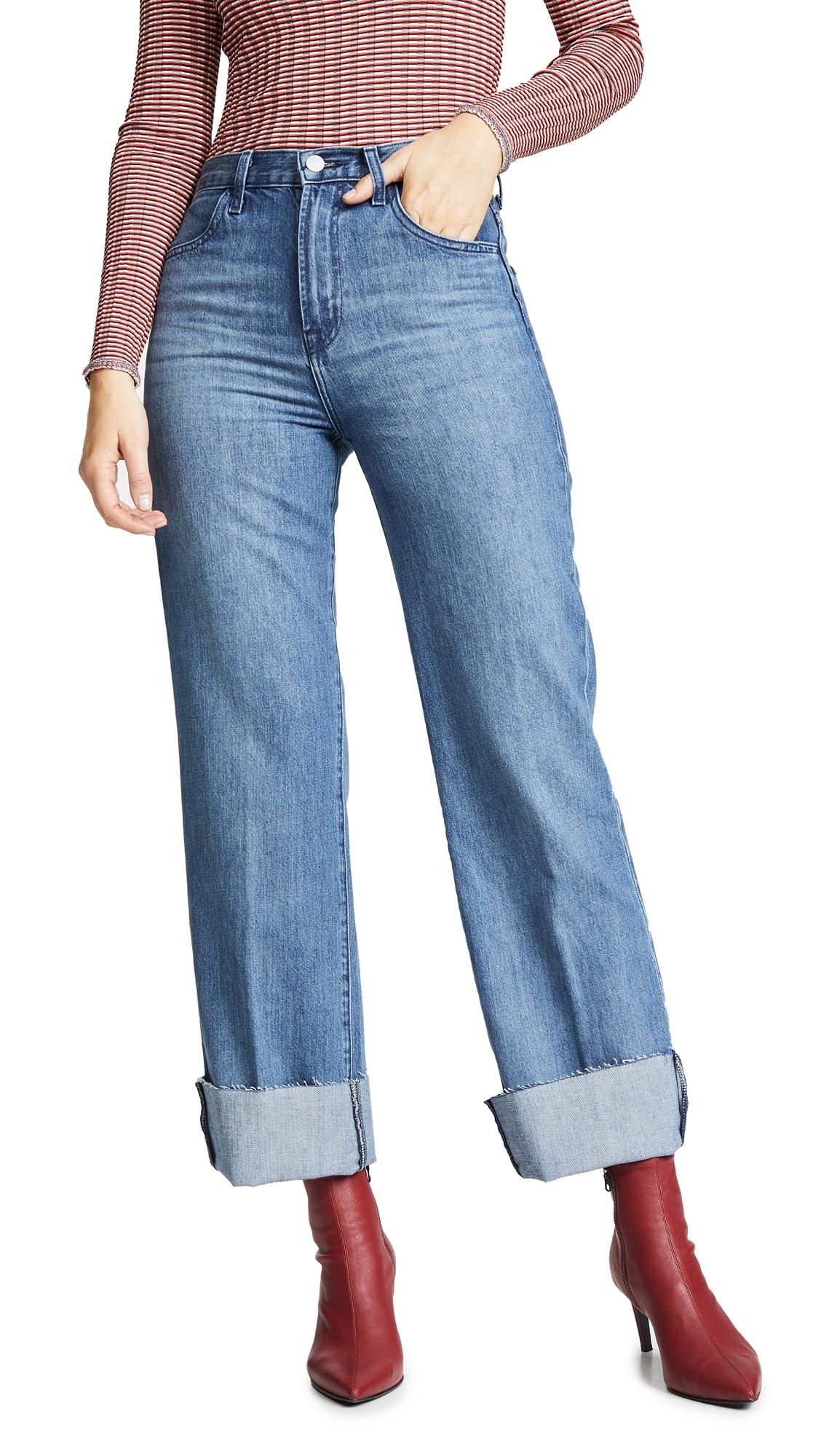 7bab99b30f5a J Brand Joan High Rise Crop Jeans - Electric Dream