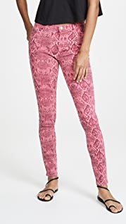 J Brand 620 Neon Pink Boa Jeans