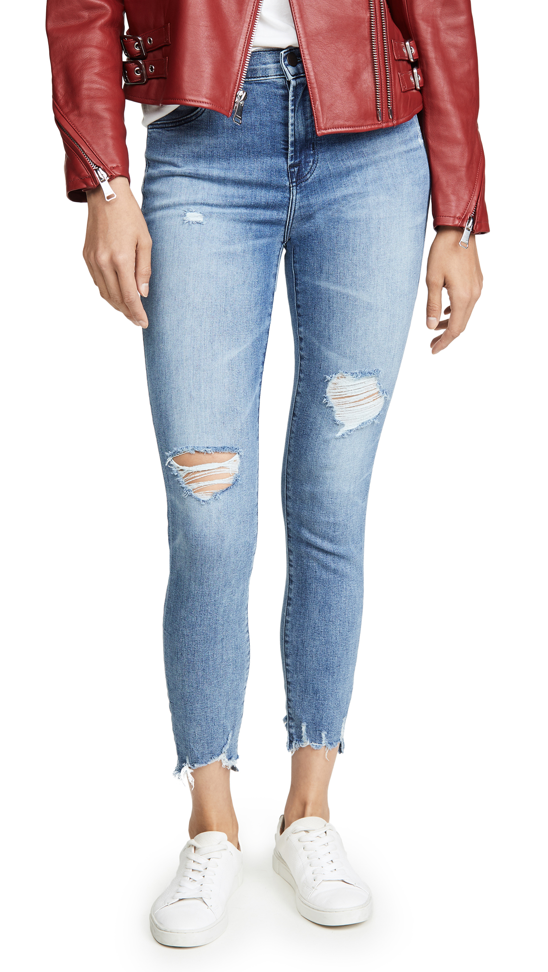 Buy J Brand online - photo of J Brand Alana High Rise Crop Skinny Jeans