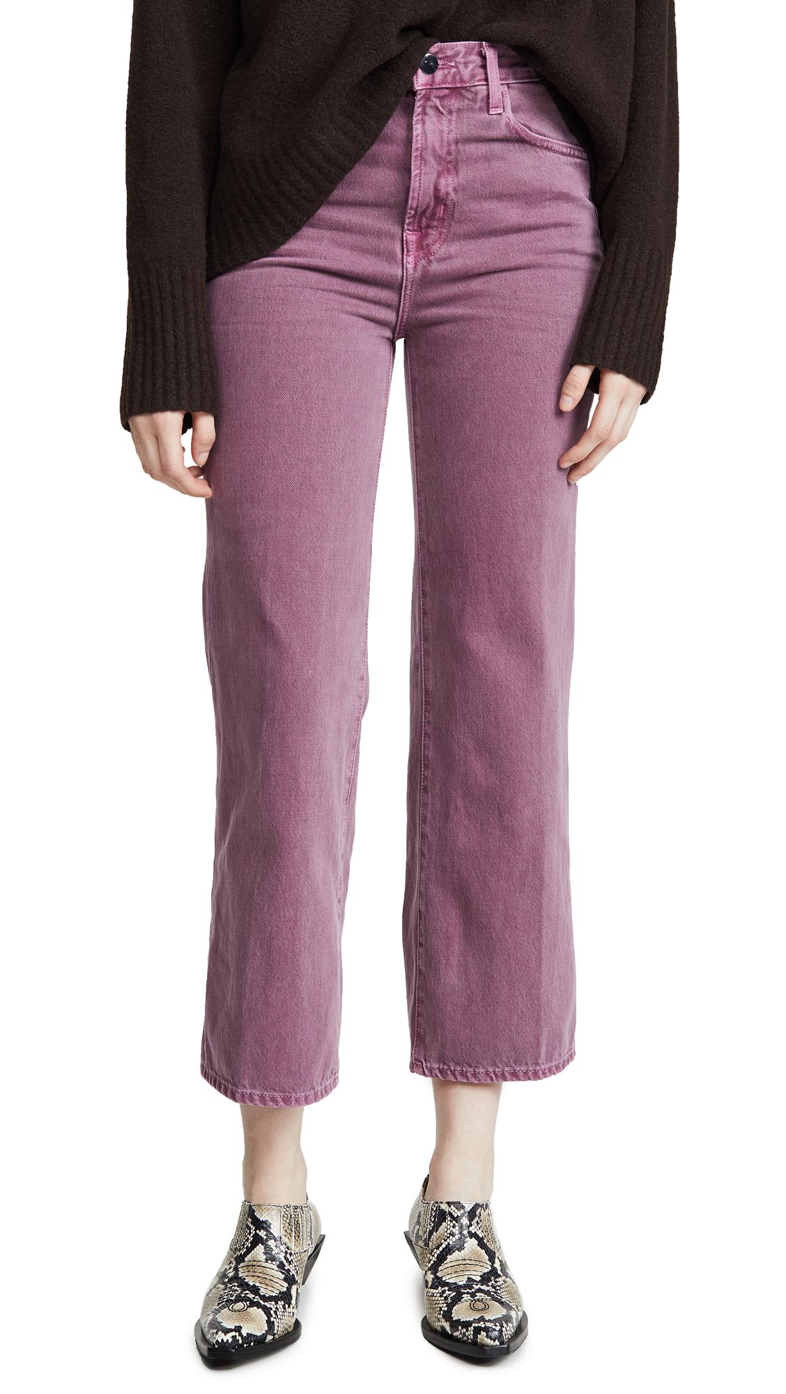 Buy J Brand online - photo of J Brand Joan High Rise Crop Jeans