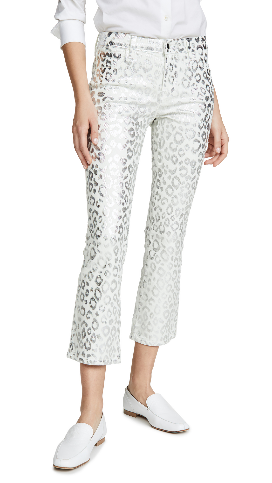 Buy J Brand online - photo of J Brand Selena Mid Rise Crop Bootcut Jeans
