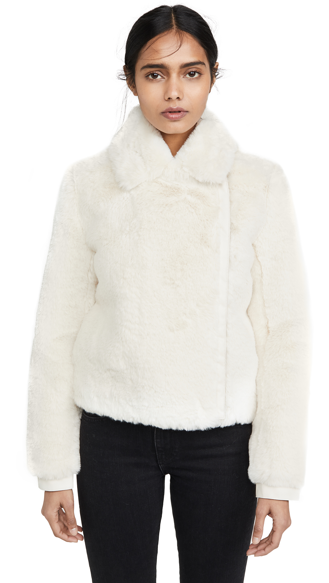 Buy J Brand online - photo of J Brand Isleen Faux Fur Jacket