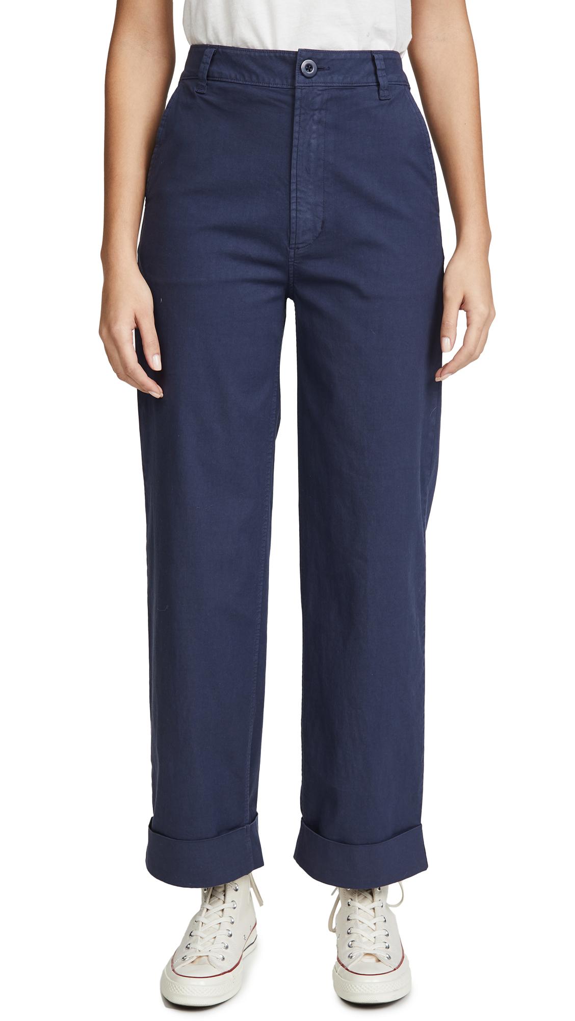 Buy J Brand online - photo of J Brand Ebbe Wide Leg Trousers
