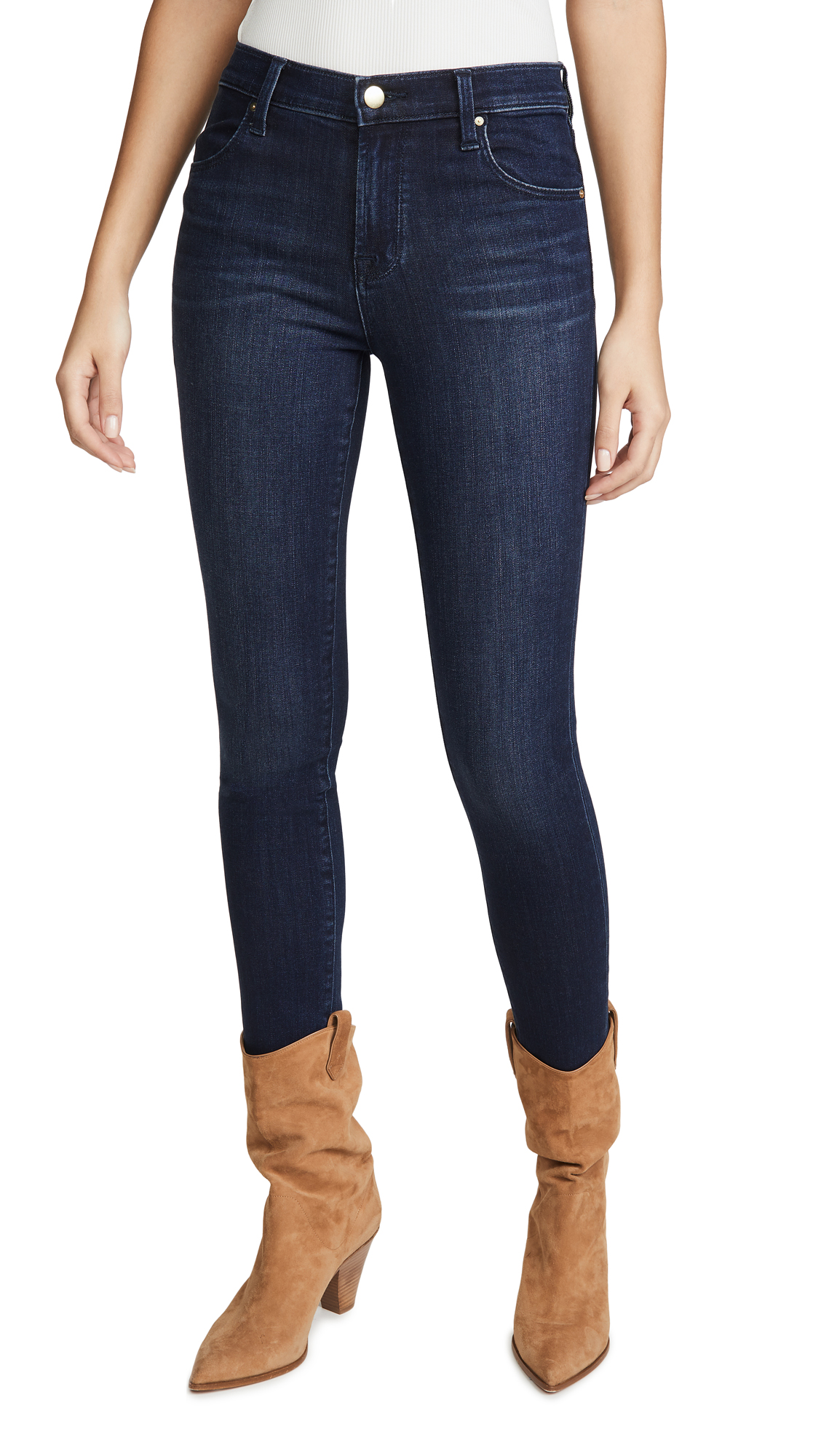 Buy J Brand online - photo of J Brand Maria High Rise Skinny Jeans