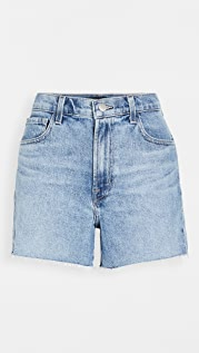 J Brand Jules 高腰牛仔布短裤