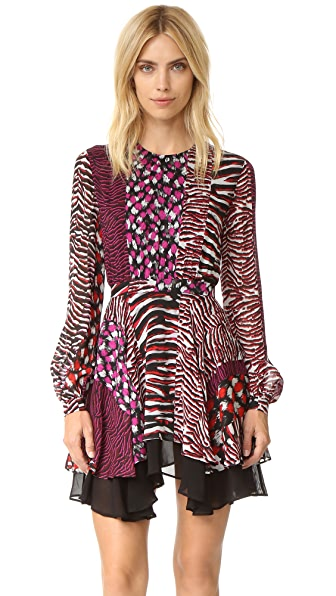 Just Cavalli Animal Patch Dress - Multicolor Variant