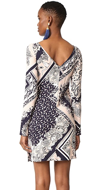 Just Cavalli Patchwork Bandana Shift Dress