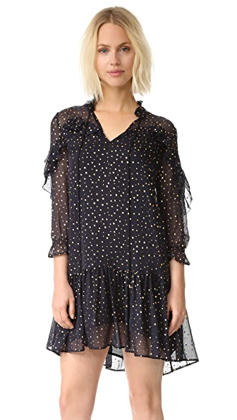 Just Cavalli Flutter Sleeve Dress
