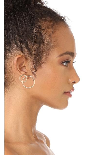 Justine Clenquet Lea Earrings