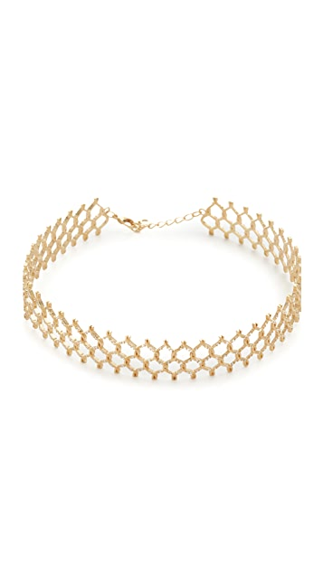 Joanna Laura Constantine Chain Link Choker Necklace