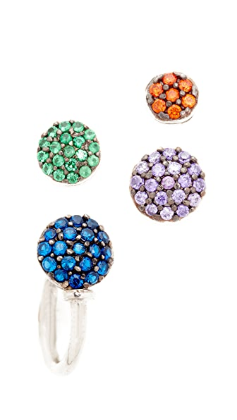 Joanna Laura Constantine Top Nail Earring Set