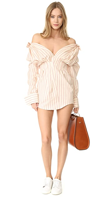 Jacquemus Collared Shirtdress