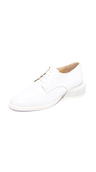 Jacquemus Clown Oxfords - White