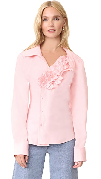 Jacquemus Seville Shirt In Pink