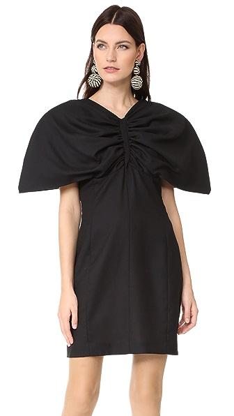 Jacquemus Mini Dress In Black