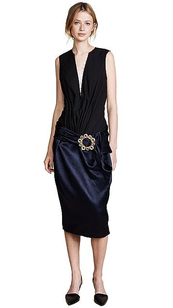 Jacquemus Платье с V-образным вырезом