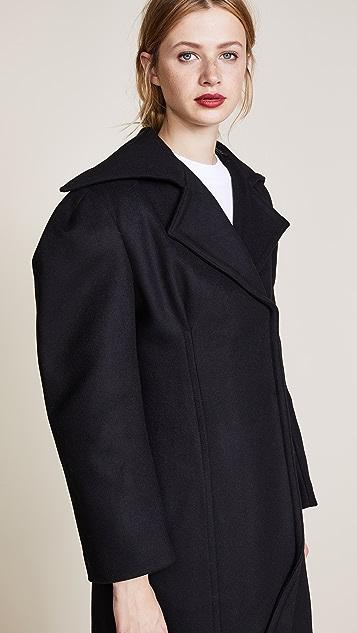 Jacquemus Пальто с присборенной талией