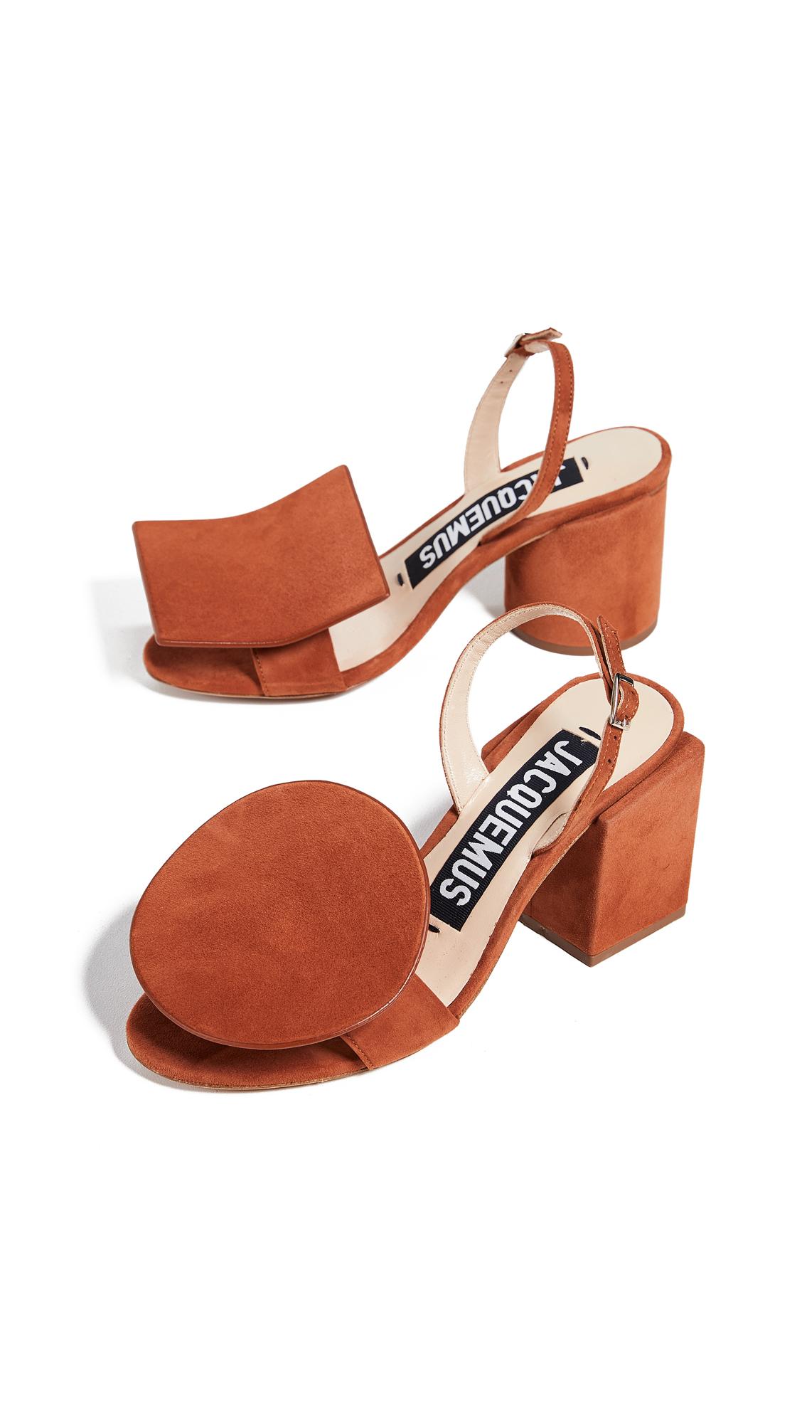 Jacquemus Les Rond Carré Sandals
