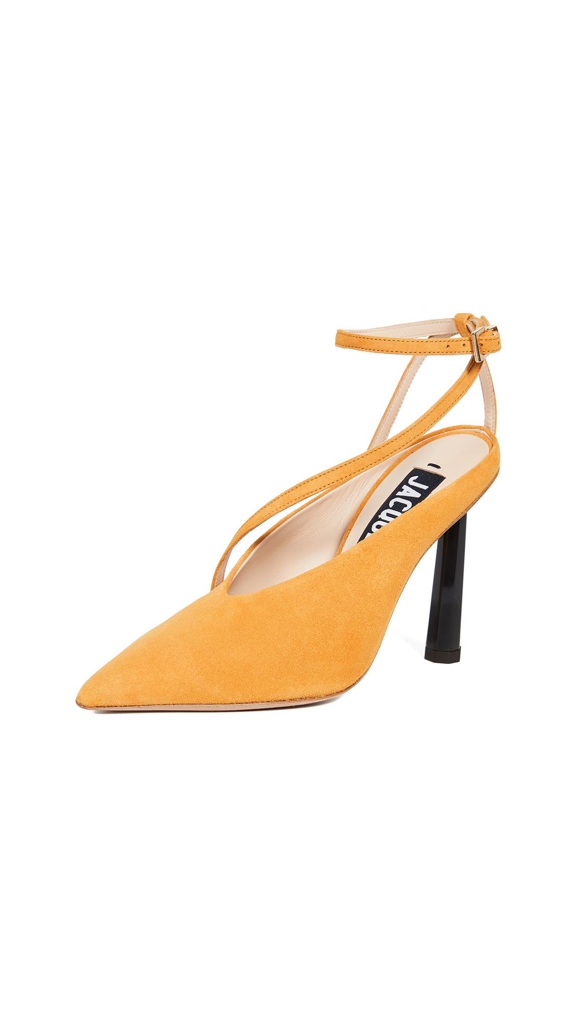 Jacquemus Les Chaussures Faya Pumps - Yellow