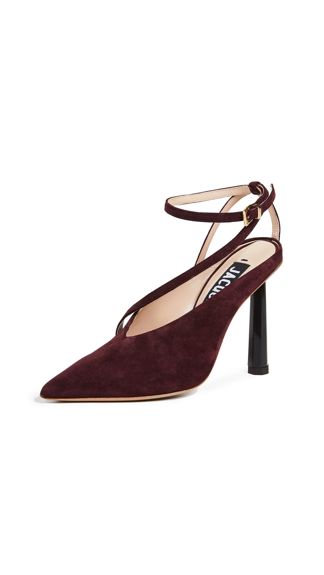 Jacquemus Les Chaussures Faya Pumps - Purple