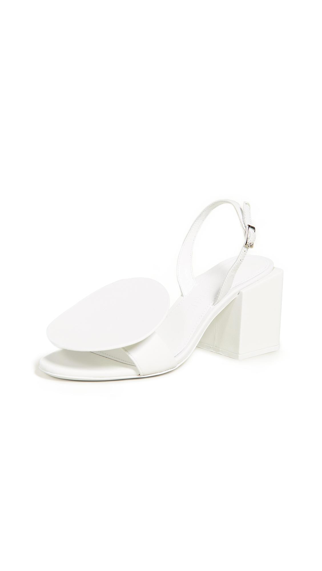 Jacquemus Les Rond Carre Sandals