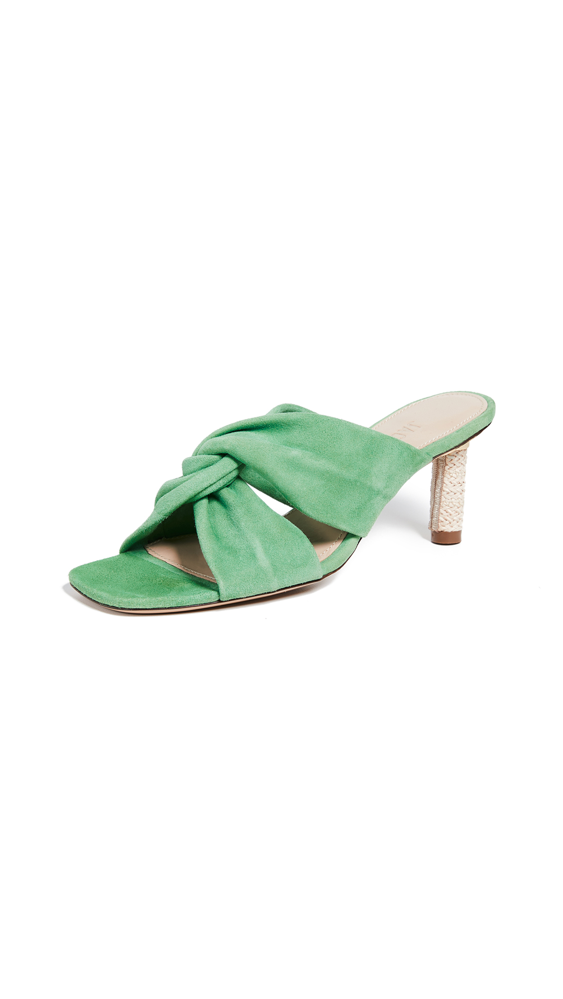 Jacquemus Les Mules Bellagio - Green