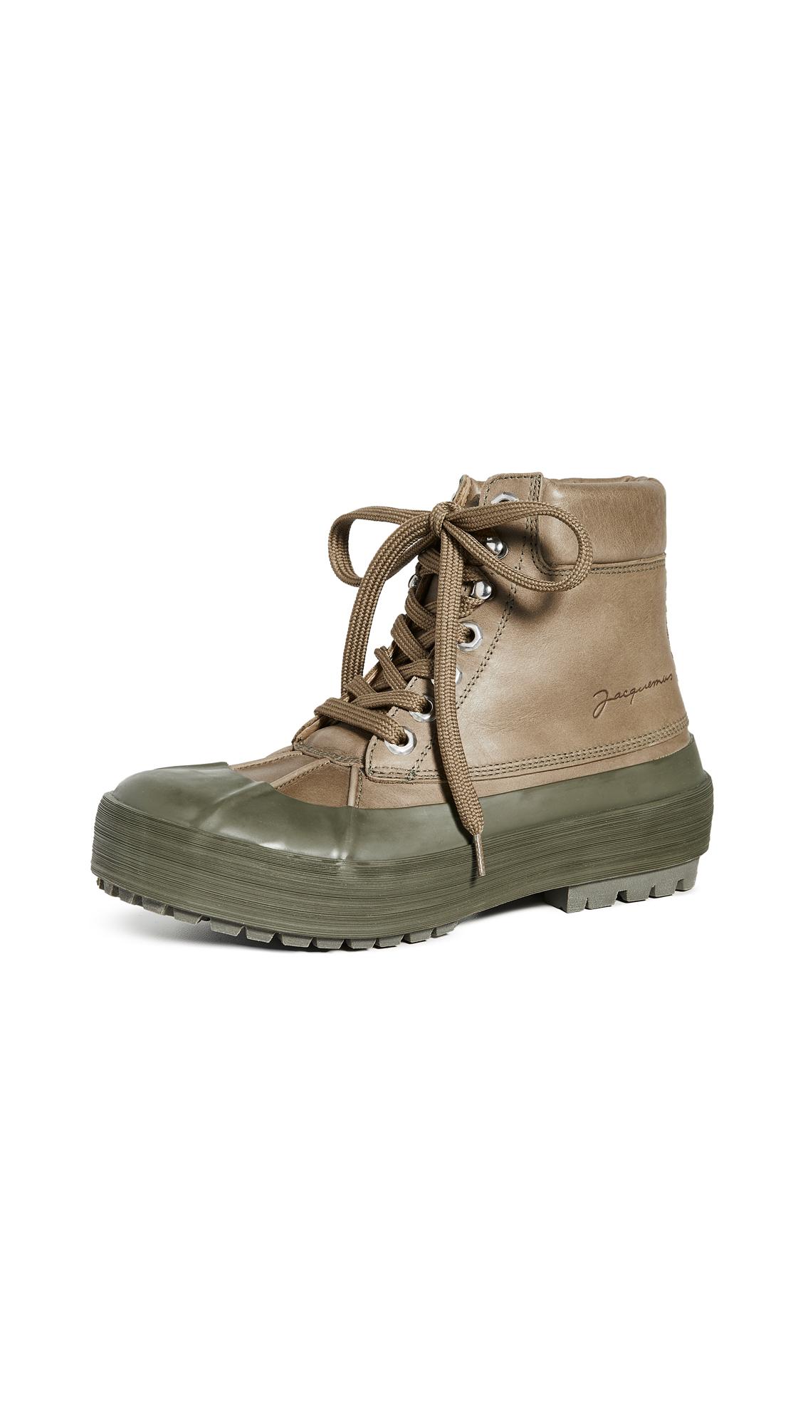 Buy Jacquemus online - photo of Jacquemus Les Meuniers Hautes Boots