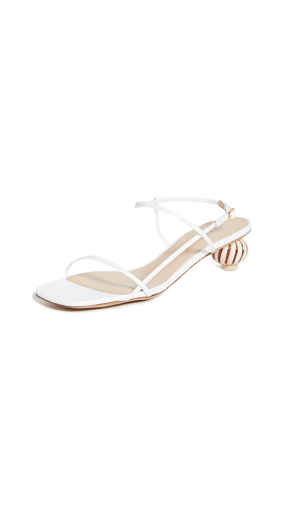 Jacquemus Manosque Sandals – 30% Off Sale