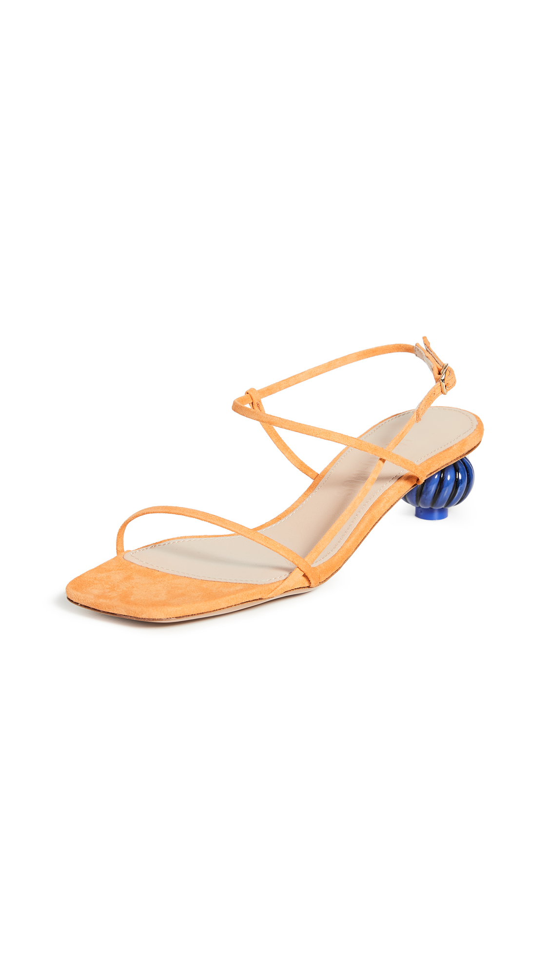 Jacquemus Manosque Suede Sandals – 30% Off Sale
