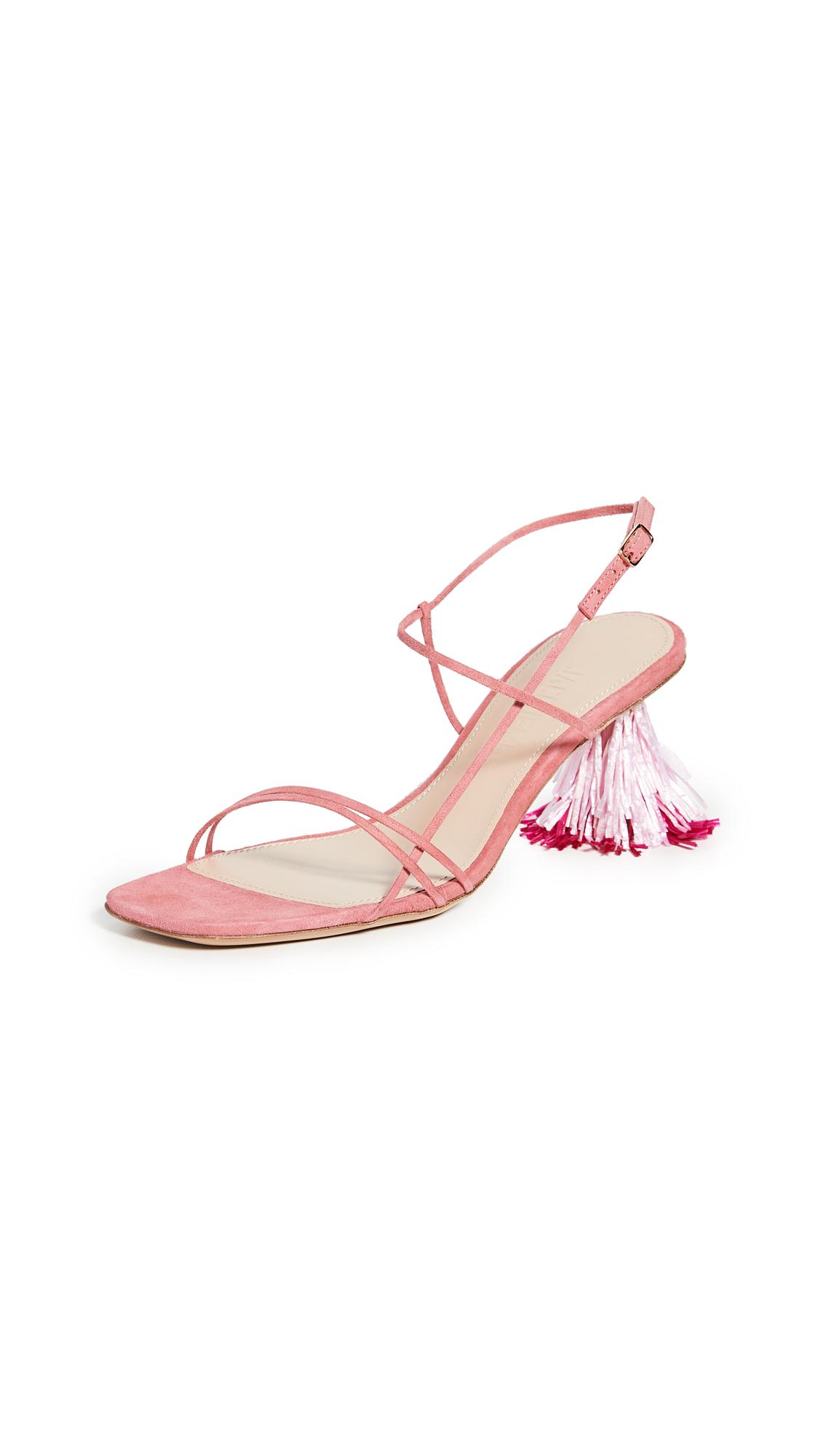 Buy Jacquemus Les Raphia Sandals online, shop Jacquemus