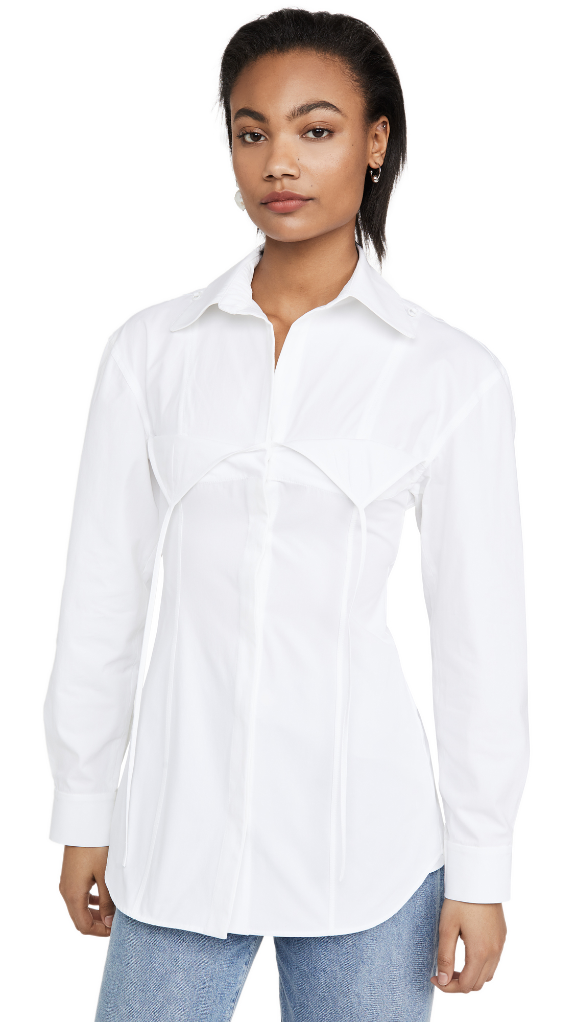 Buy Jacquemus online - photo of Jacquemus The Valensole Shirt