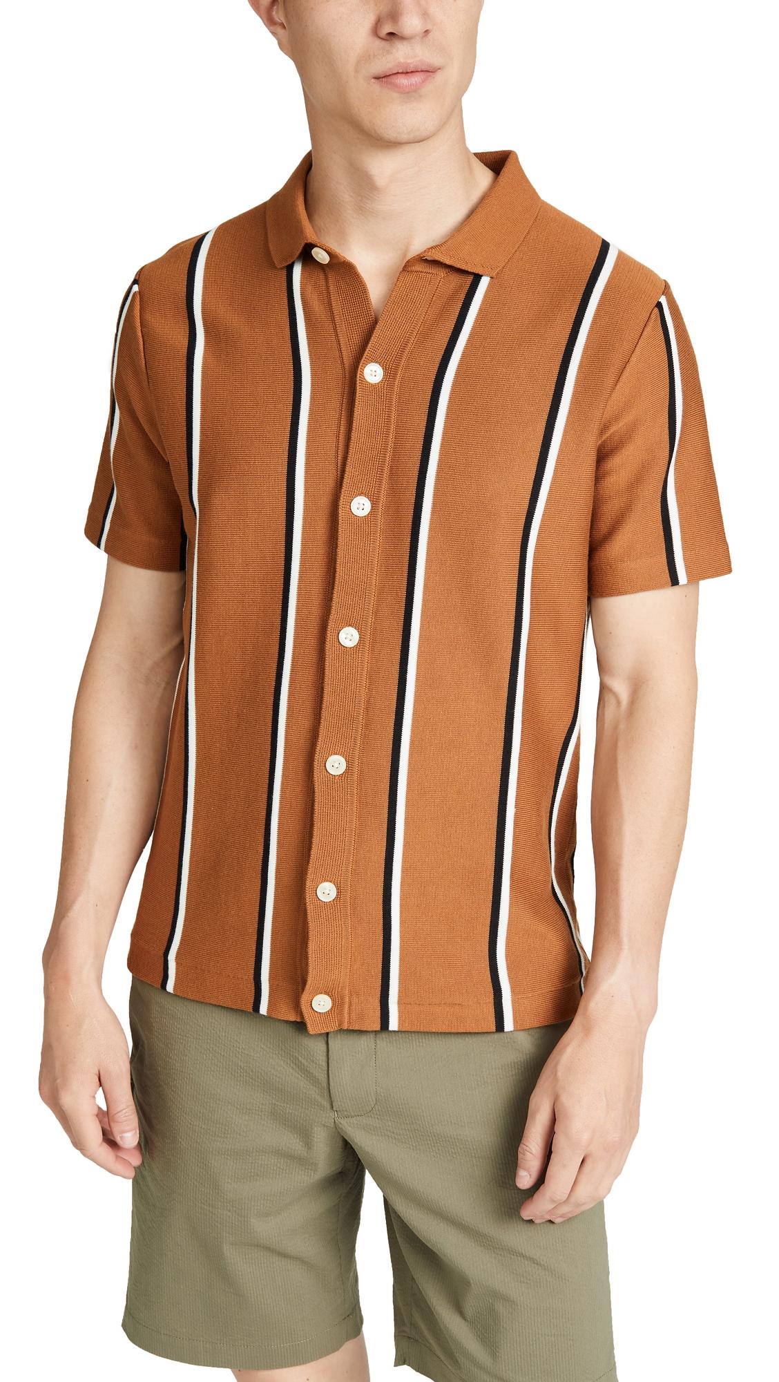 J.CREW | J. Crew Short Sleeve Pima Cotton Coolmax Polo Cardigan | Goxip