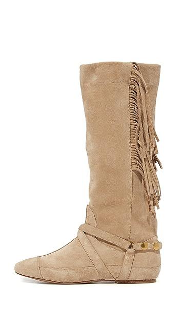 Jerome Dreyfuss Arizona Fringe Boots