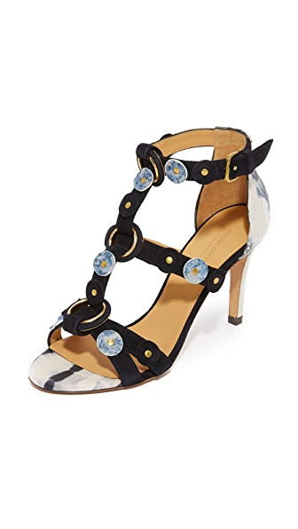 Jerome Dreyfuss Lola Sandals - Tie Dye