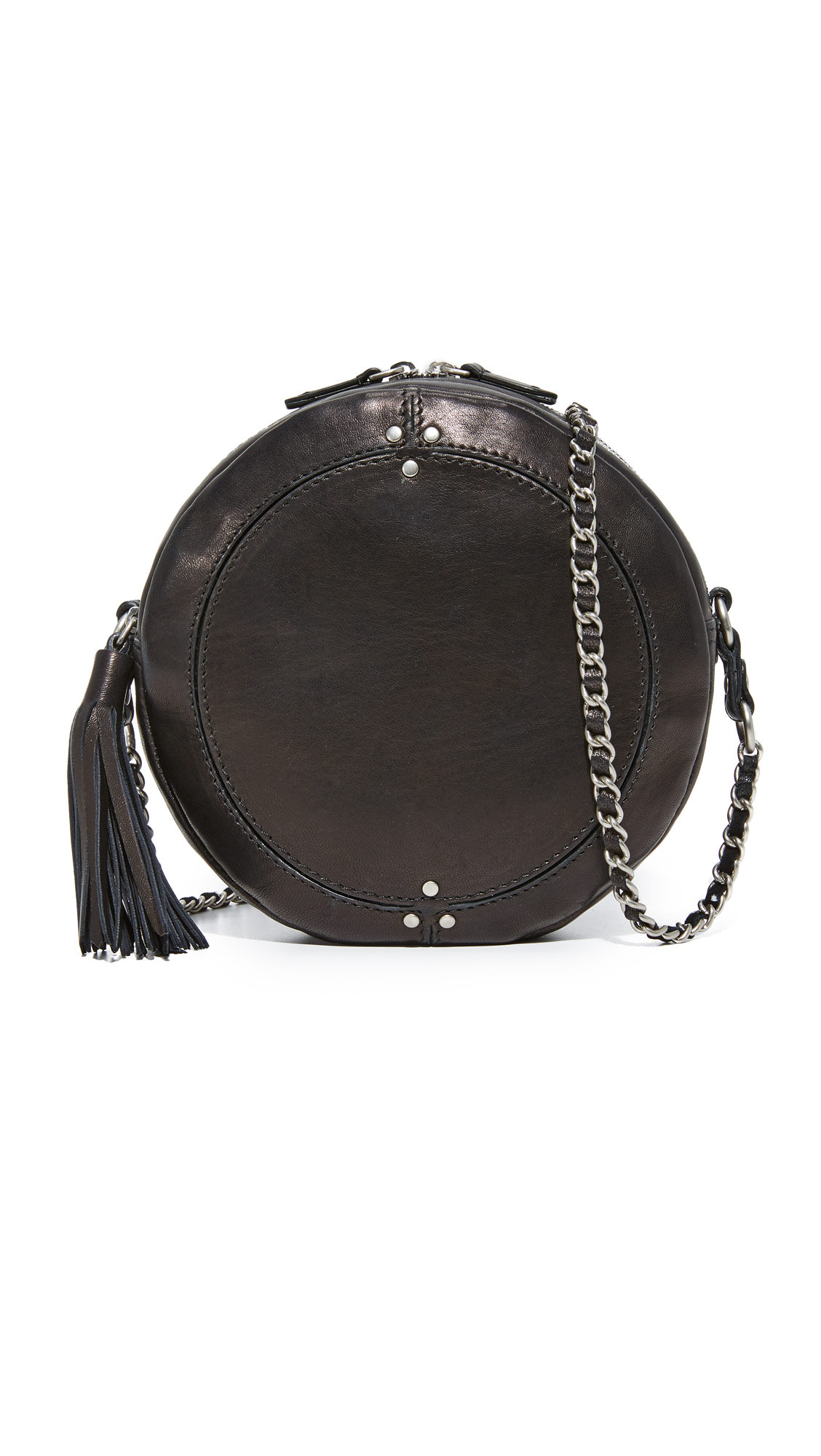 Jerome Dreyfuss Remi Circle Bag - Black