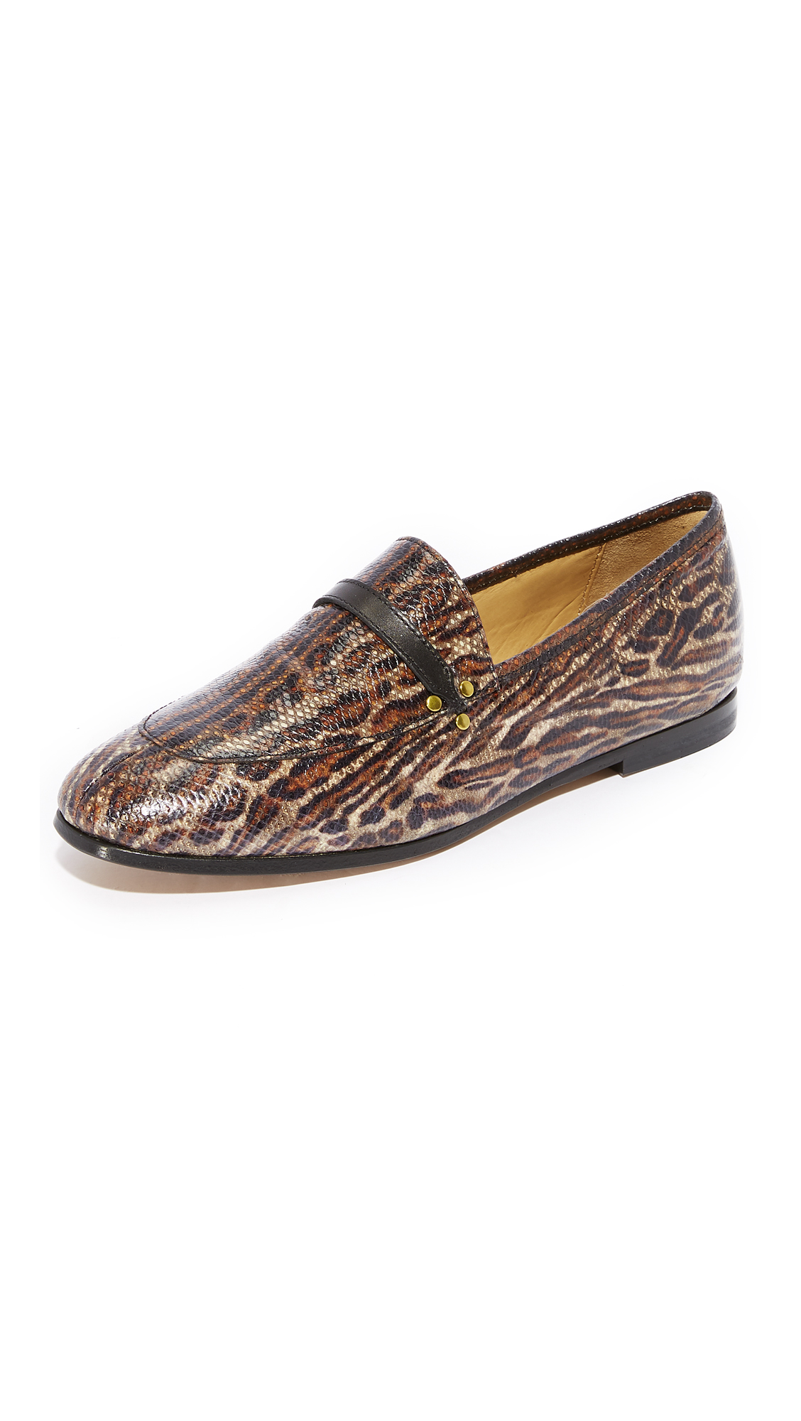 Jerome Dreyfuss Gabi Loafers - Leopard