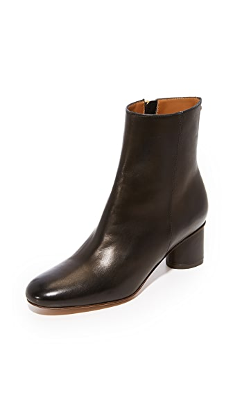 Jerome Dreyfuss Patricia 50 Ankle Booties In Noir