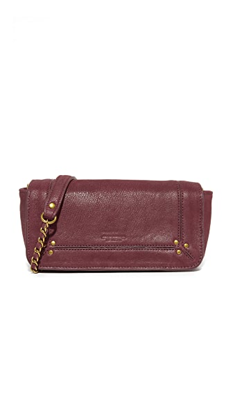Jerome Dreyfuss Bobi Cross Body Bag - Bordeaux Noirci